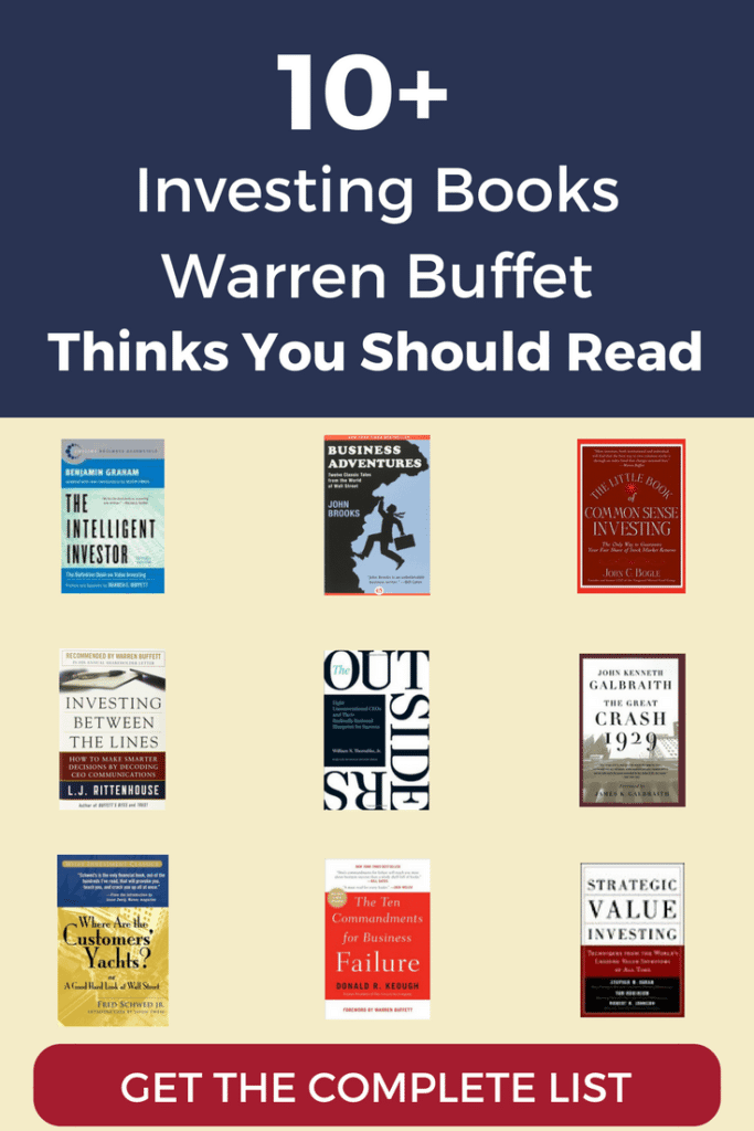 Here are Warren Buffett's 10 favorite investing books, plus 20+ more books he recommended in pursuit of worldly wisdom
