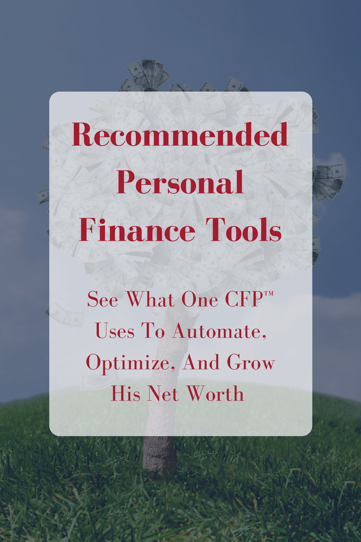 Recommended Personal Finance Resources & Tools
