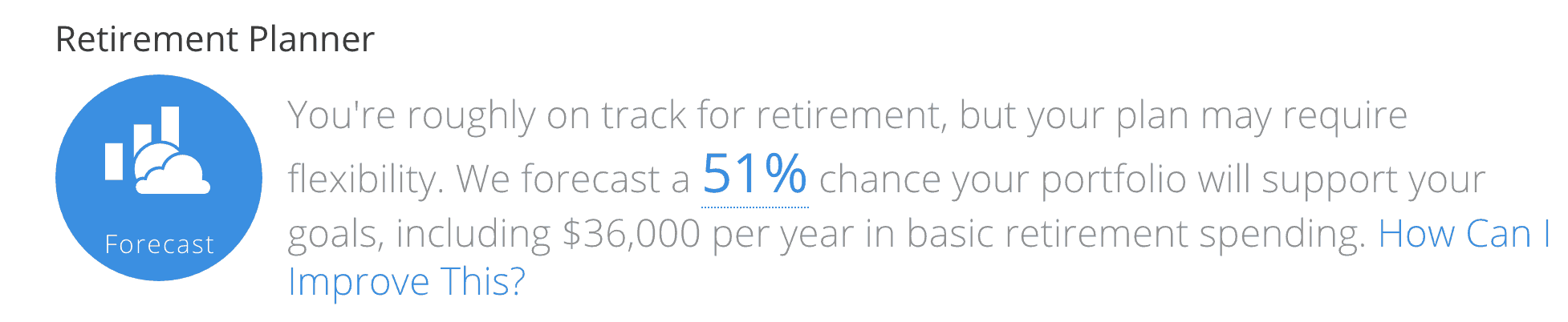 Personal Capital Review: Retirement Planner