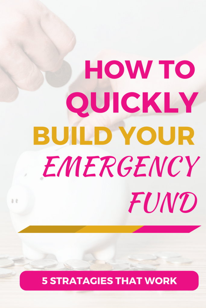 Here's an emergency fund savings plan you can complete fast. Get out of debt and build your emergency fund fast with these ideas, tips, and strategies.
