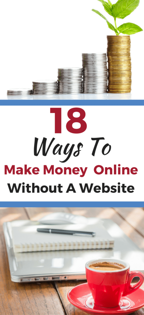 18 Smart ways anyone can make money online. No investment or website needed.
