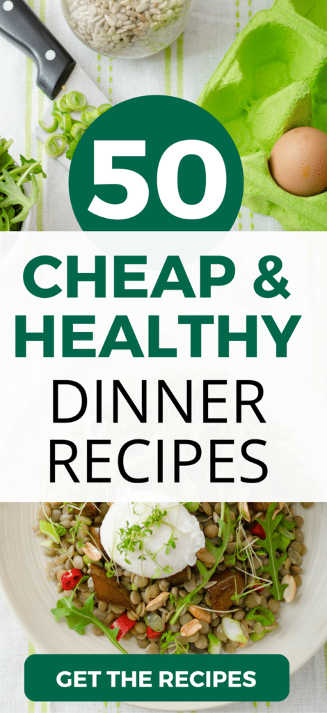 50 delicious, cheap, and healthy dinner ideas. Check out these great tasting, easy-to-make recipes that won't blow your budget.