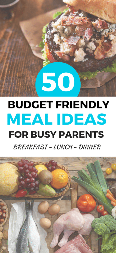 Here's a list of 50 Budget-Friendly, Family Recipes you should try. They're easy to make and can feed a hungry family on the cheap.