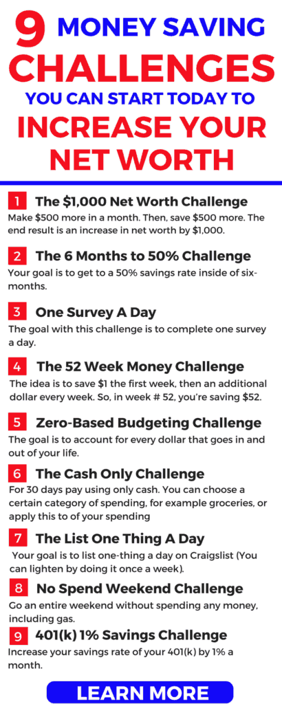 Try the 9 money saving challenges to have your best year ever. Save more money and make more money--fast.
