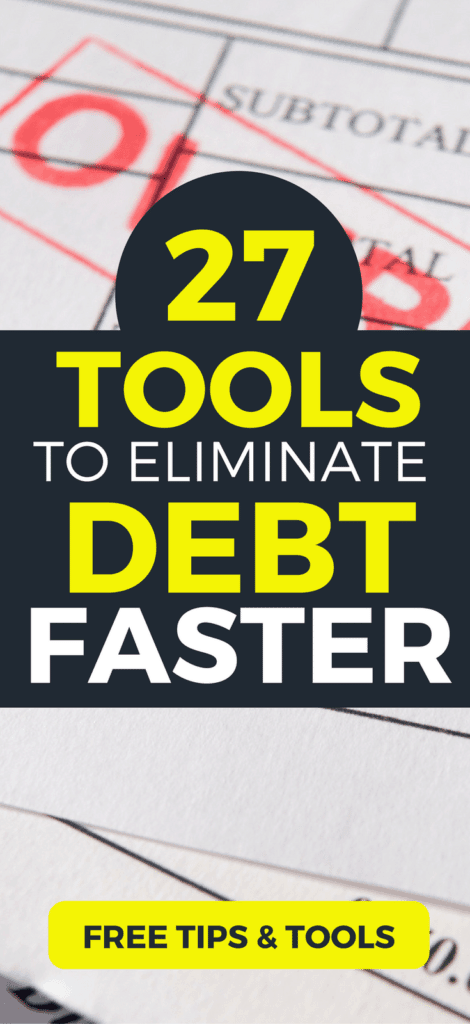 Want to become debt fast? Check out these 27 powerful and free tips, tools, and strategies for getting out of debt fast. Get helpful free worksheets and tools. Learn what science says about the snowball vs. avalanche. Quickly get out of debt with these helpful free resources.