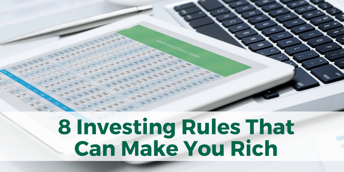 Learning The Stock Market: 8 Investing Rules That Can Make You Rich