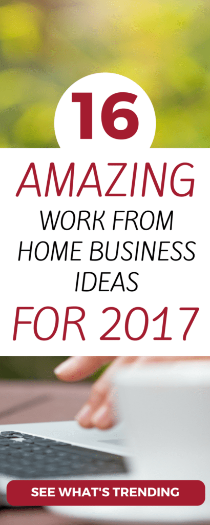 CHECK OUT these 16 legit ways to make money at home. Launch these small scale businesses with little investment and manage them all online. A lot of great business ideas here to start working from home.
